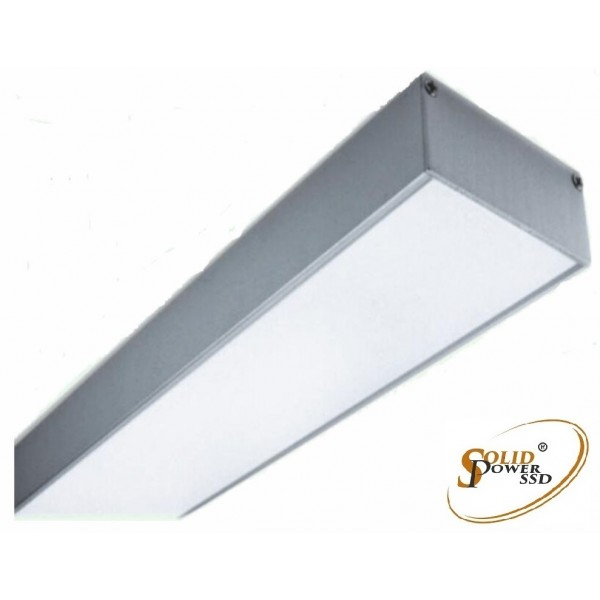 luminaria led lineal Elegance suspensión 42 W