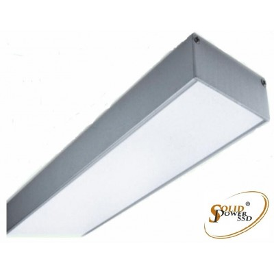 luminaria led lineal Elegance suspensión 52 W
