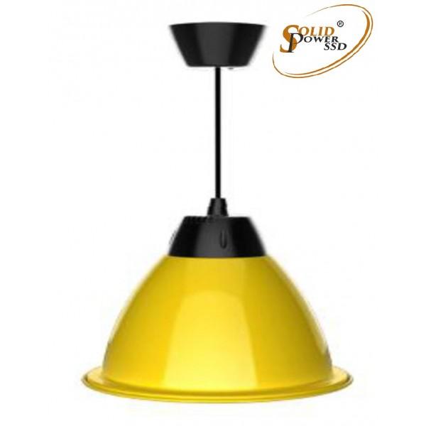 Lámpara suspensión led Fresh amarilla 35 W