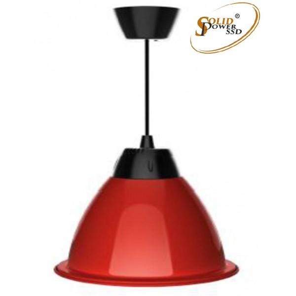 Lámpara suspensión led Fresh roja 35 W