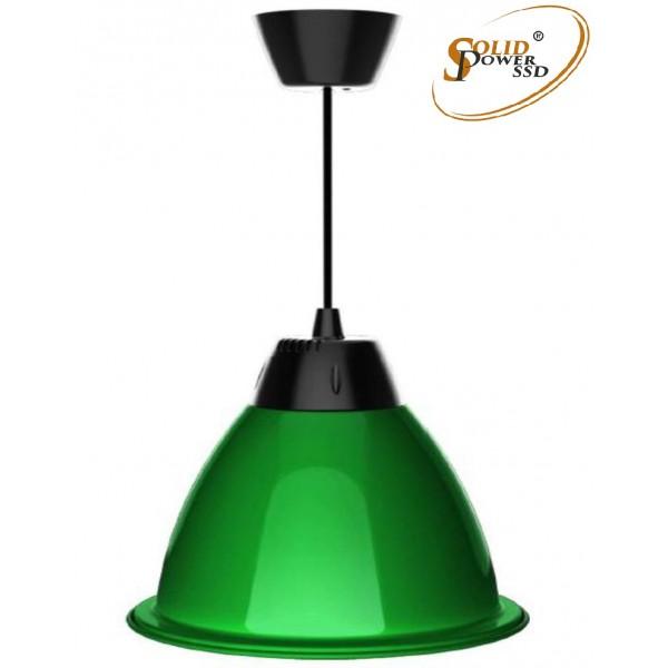 Lámpara suspensión led Fresh verde 35 W